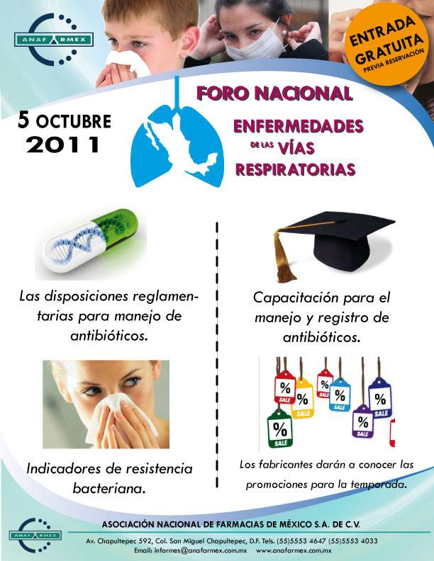 Invitaci 243 N Foro Nacional Enfermedades De Las Vias