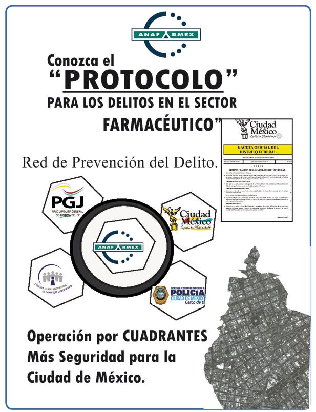 Invitación Foro de Seguridad para el Sector Farmacéutico
