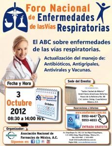 Invitación Foro Nacional de Enfermedades de las Vías Respiratorias