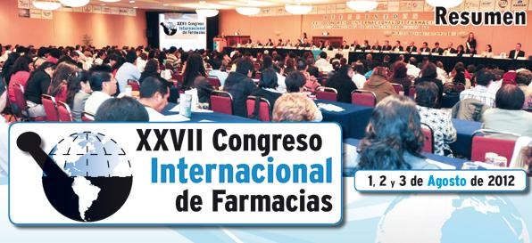 Resumen XXVII Congreso Internacional de Farmacias