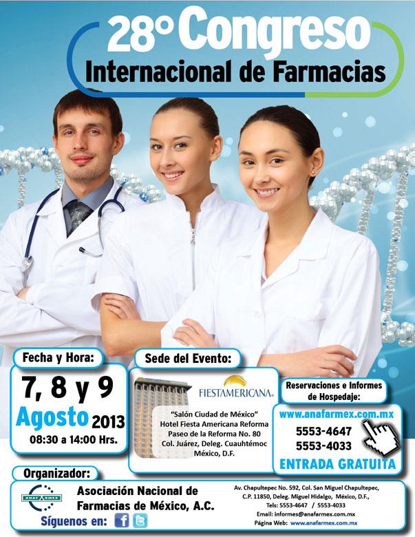 Invitación 28° Congreso Internacional de Farmacias