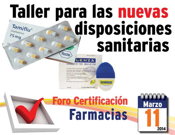 Invitación al Foro Certificación a Farmacias