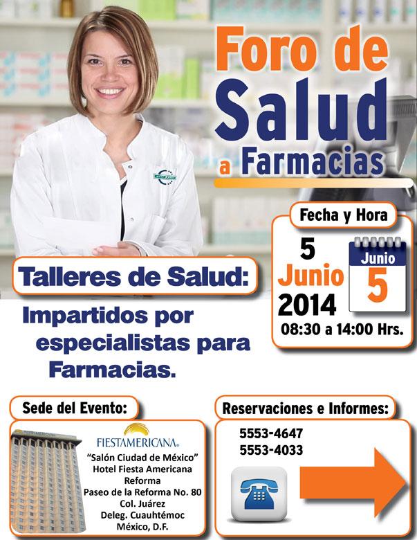 Foro de Salud a Farmacias