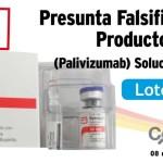 Presunta falsificación del producto Synagis